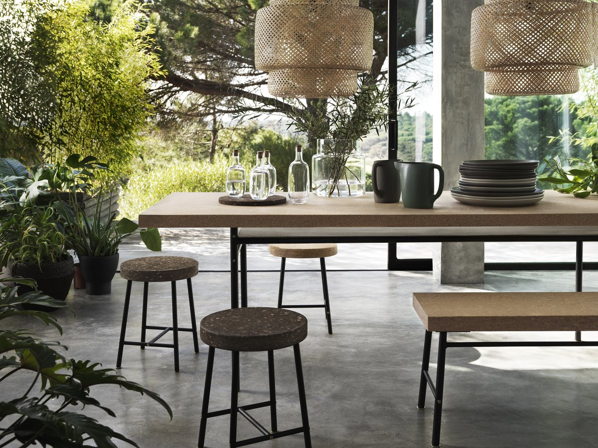 Ikea Sinnerlig Collection - Esstisch, Hocker und Bank