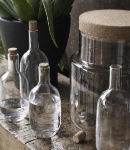 Ikea Sinnerlig Collection - Flaschen und Vorratsbehälter
