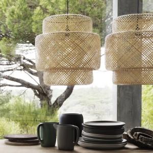 Ikea Sinnerlig Collection - Hängeleuchten und Geschirr