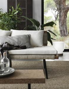 Ikea Sinnerlig Collection – Tagesbett, Couchtisch, Teppich und Kissenbezüge